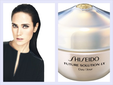 Jennifer Connelly for Shiseido's new Future Solution Lx Total Protective Cream