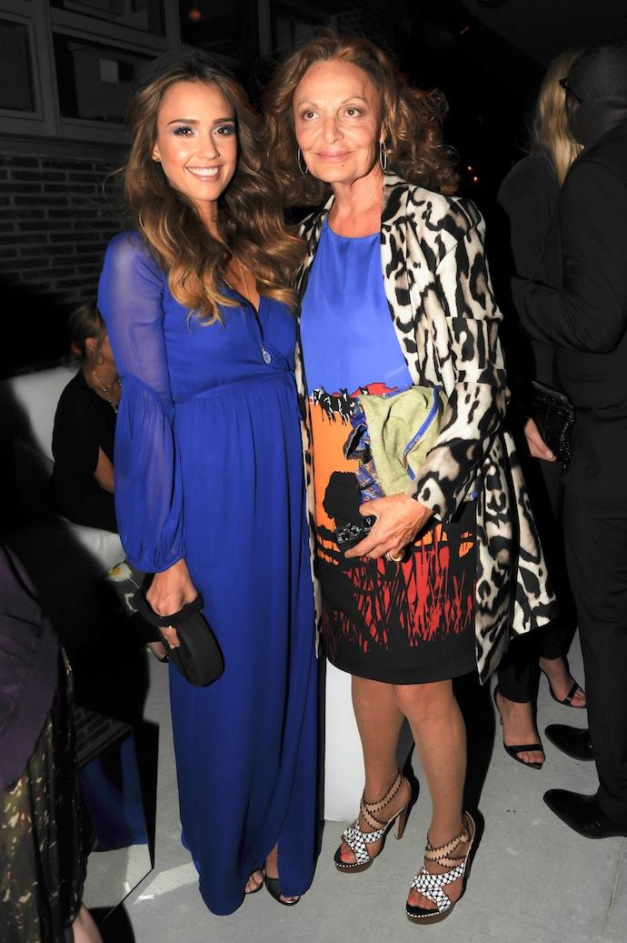 Diane von Furstenberg, Jessica Alba