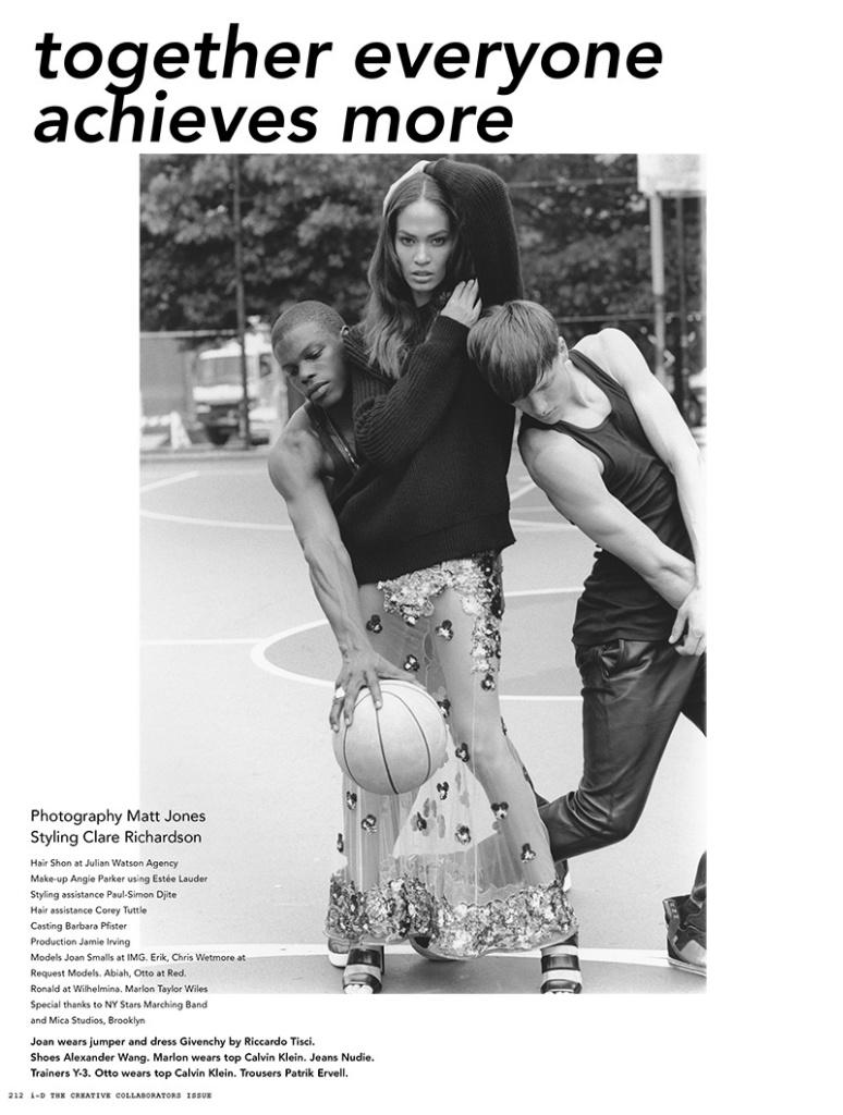 Joan Smalls By Matt Jones For i-D Magazine October 2013