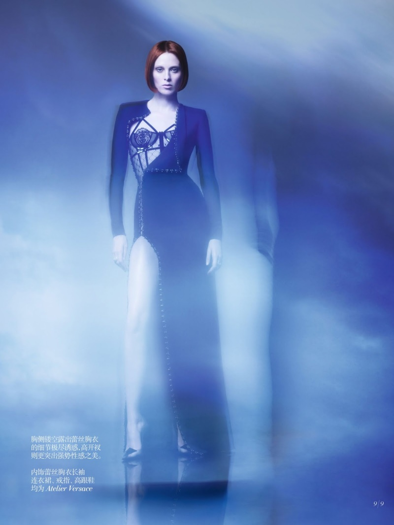 Karen Elson by Sølve Sundsbø for Vogue China Collections F/W 2013.2014