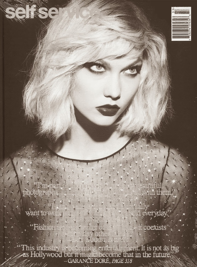 KARLIE KLOSS FOR SELF SERVICE ISSUE 39 Fall 2013