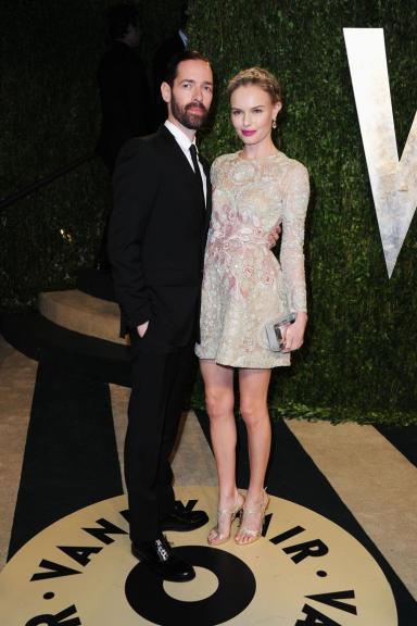 Kate Bosworth and film director Michael Polish