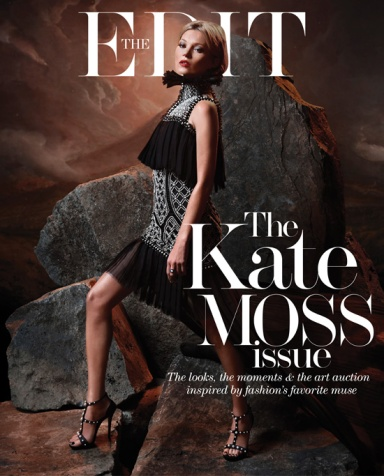 Kate Moss by Matt Collishaw for The Edit September 12 ,2013