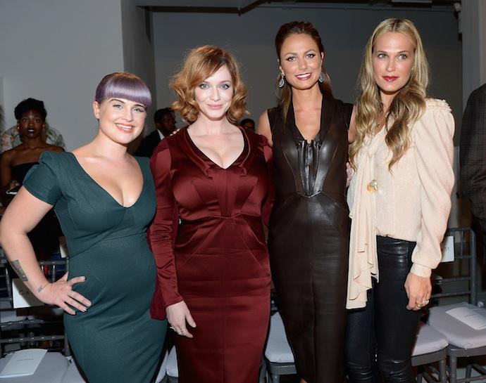 Kelly Osbourne , Christina Hendricks , Stacy Keibler and Molly Sims