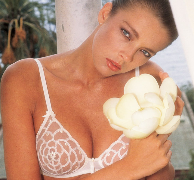 Bra La Perla, model Dhalia, Spring / Summer 1985 Photo Marco Emili
