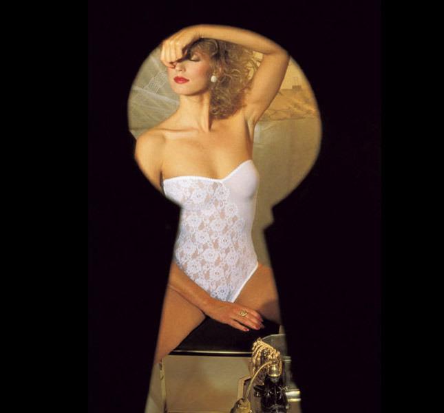 Lace bodysuit La Perla, Spring / Summer 1982 - Photo Marco Emili