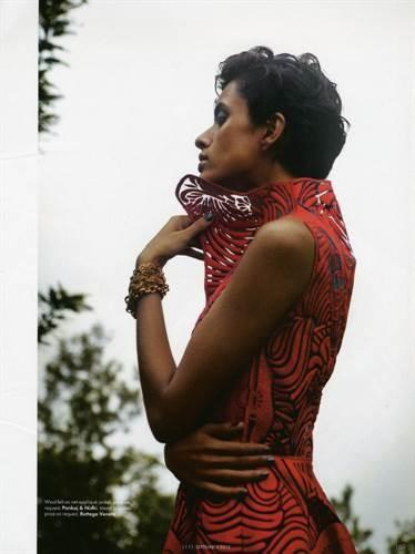 Lakshmi Menon by Tarun Vishwa for ELLE India September 2013