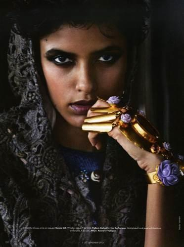 Lakshmi Menon by Tarun Vishwa for ELLE India September 2013