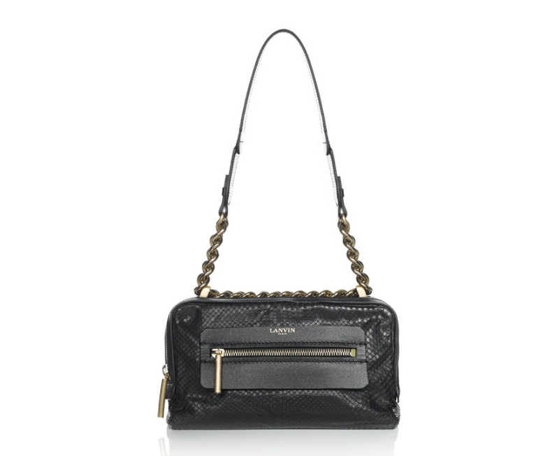 Lanvin  Dappled matt python skin Padam bag, €1850