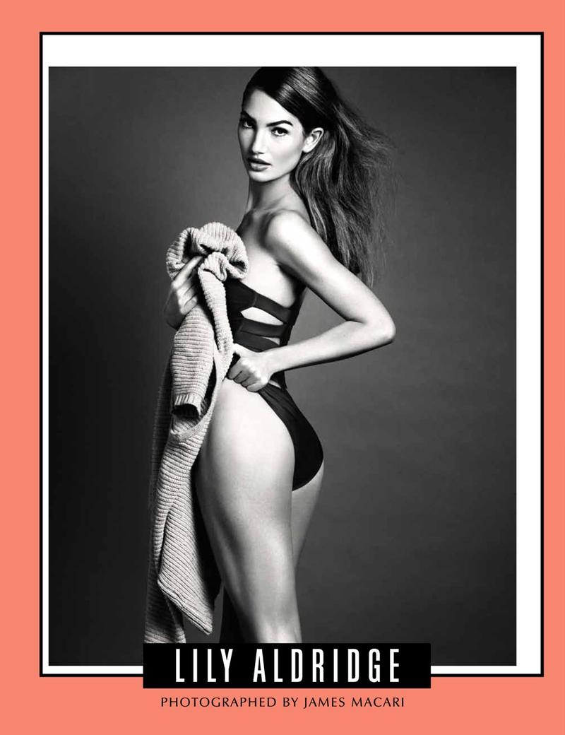 Lily Aldridge by James Macari for Galore Magazine September 2013