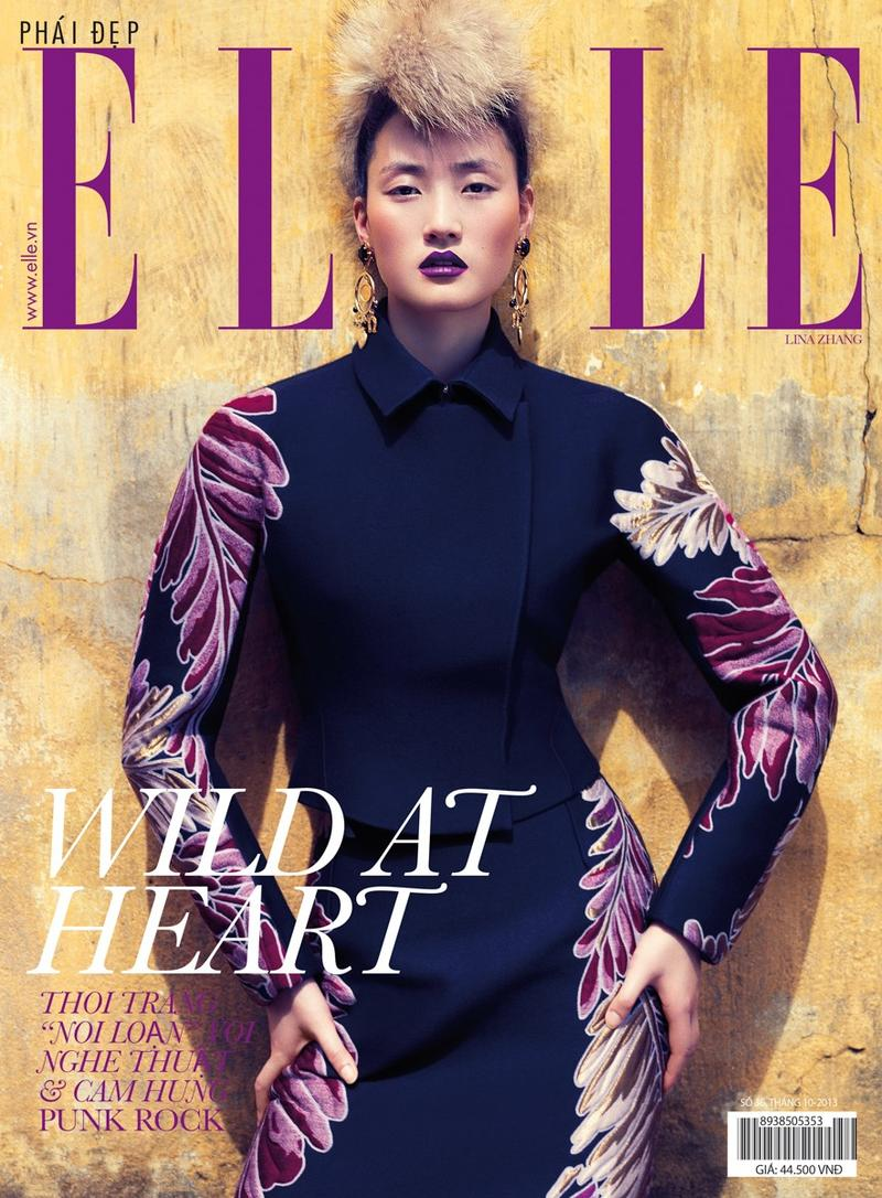 Lina Zhang by Stockton Johnson for ELLE Vietnam October 2013  Lina Zhang by Stockton Johnson for ELLE Vietnam October 2013