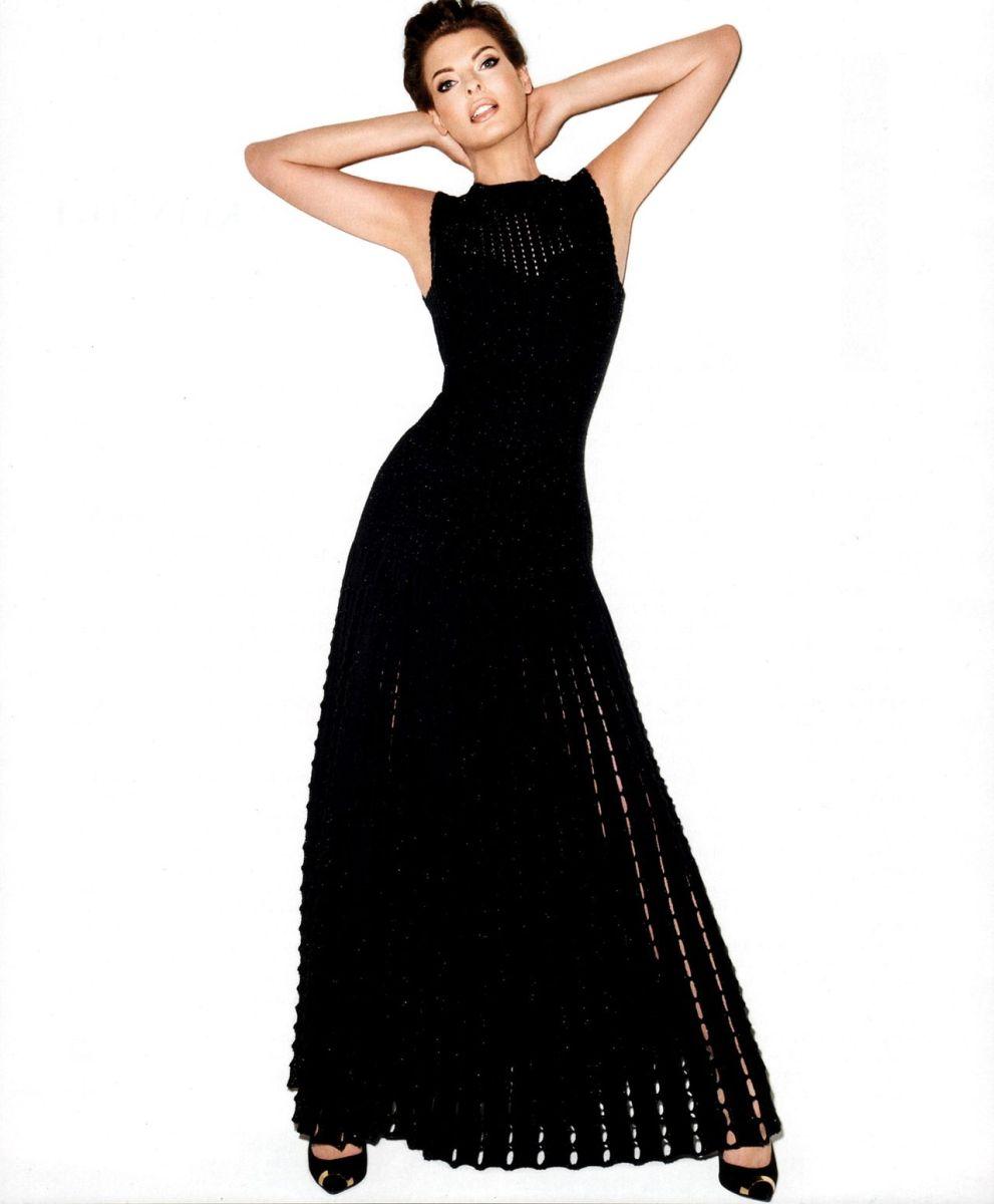 Linda Evangelista by Tery Richardson Harper's Bazaar US October 2013