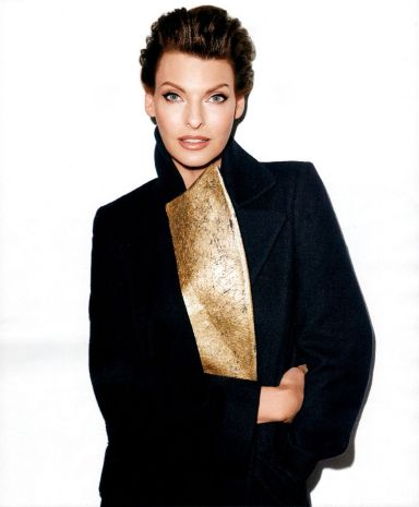 Linda Evangelista by Tery Richardson Harper's Bazaar US October 2013