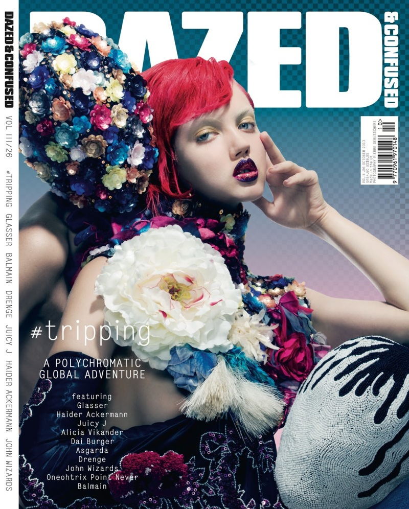 Lindsey Wixson By Pierre Debusschere For Dazed & Confused October 2013