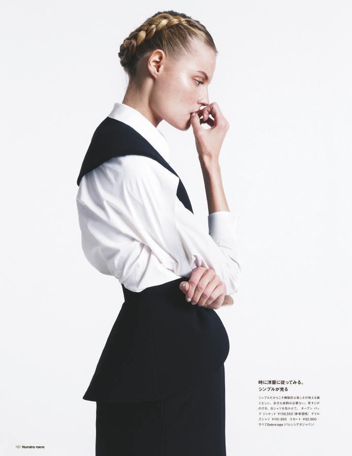 Magdalena Frackowiak by Sofia & Mauro for Numéro Tokyo #70 October 2013
