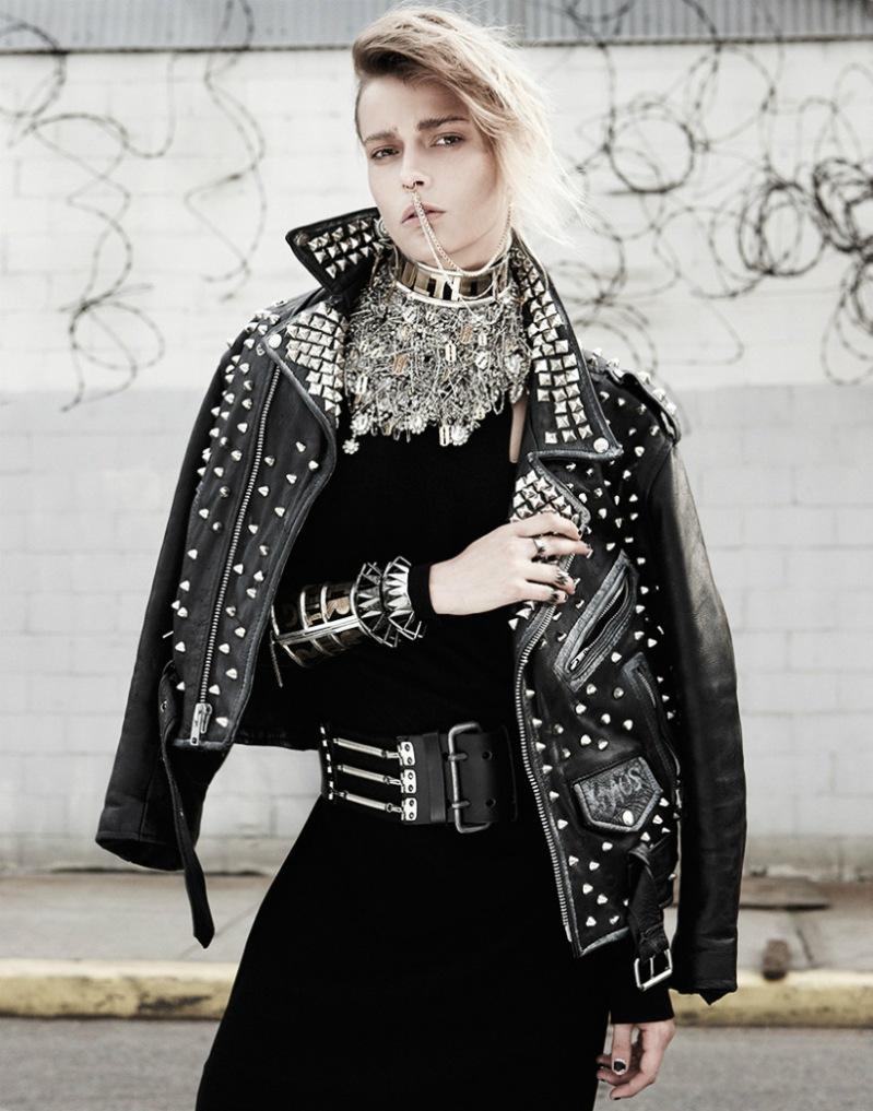Martha Streck by Manolo Campion for V Magazine September 2013