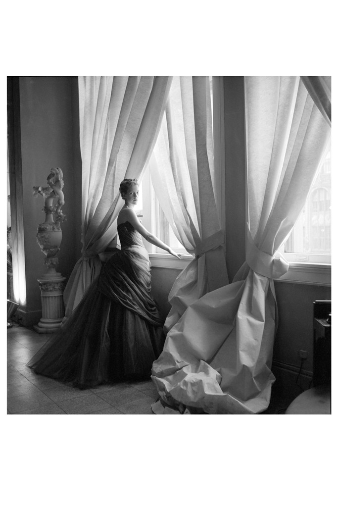 Nancy James in Charles James' Butterfly Gown, 1955. Photo by Courtesy of The Metropolitan Museum of Art, Photograph by Cecil Beaton, The Cecil Beaton Studio Archive at Sotheby's
