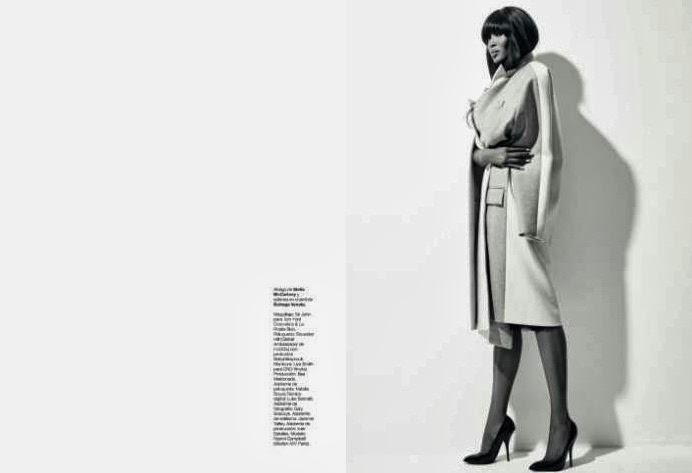 Naomi Campbell by Xevi Muntané for Harper's Bazaar Spain October 2013
