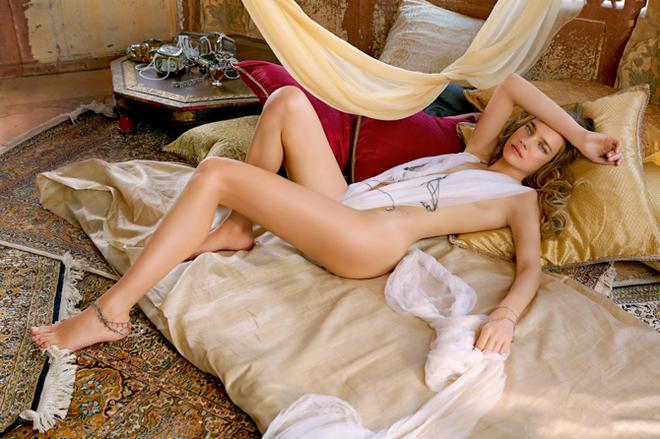 Natalia Vodianova for La Legende de Shalimar by Guerlain