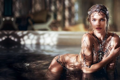 Natalia Vodianova for La Legende de Shalimar by Guerlain