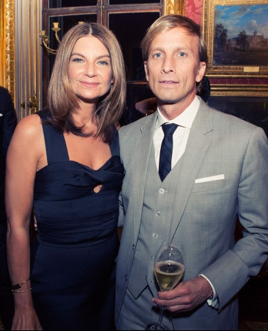 Natalie Massenet and Mark Dybul