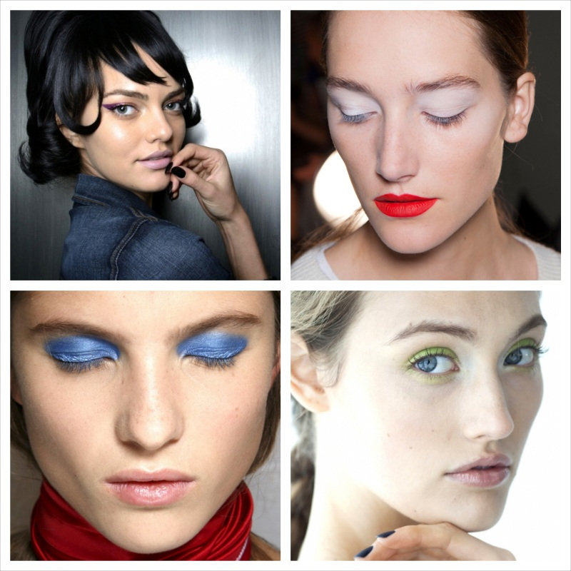 New York Fashion Week S/S 2014 : Beauty Trend Report
