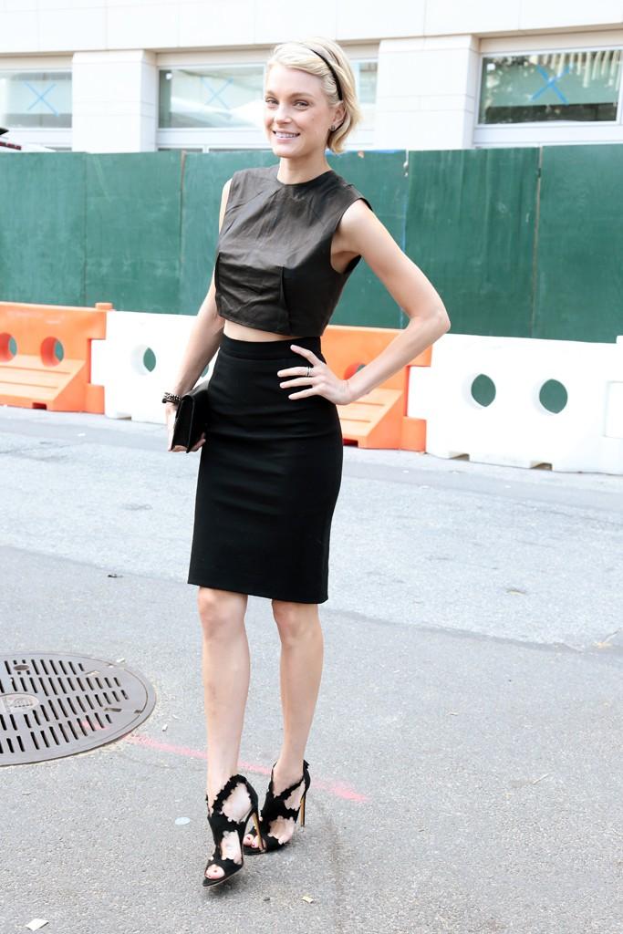 New York Fashion Week street style. Photo by Thomas Iannaccone