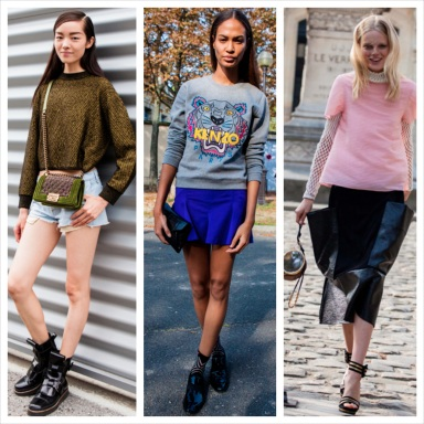 Off the runaway at Paris Fashion Week spring/summer 2014