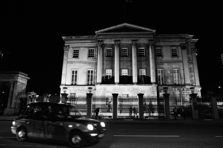 Outside Apsley House