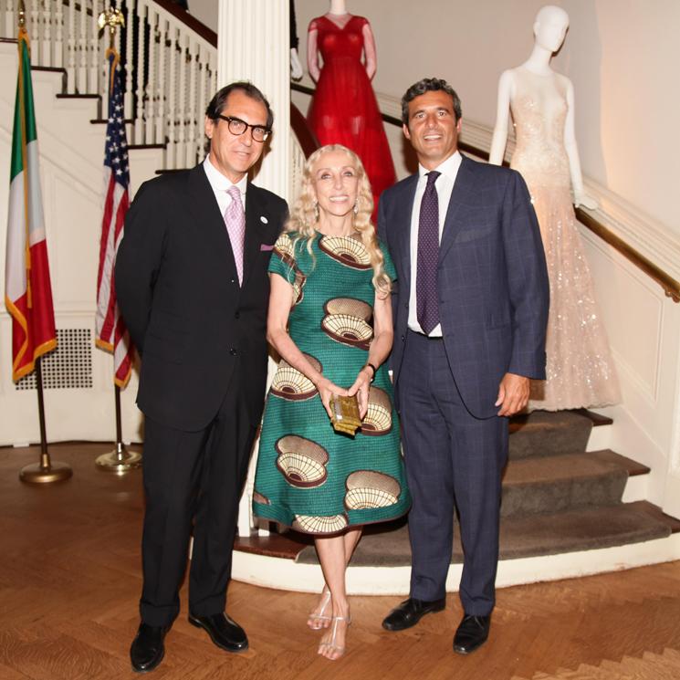 Pier Paolo Celeste, Franca Sozzani, Riccardo Maria Monti