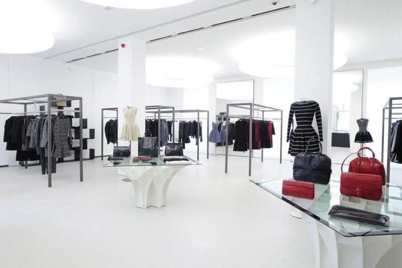 Ready-to-wear occupies two floors. Photo by Dominique Maitre
