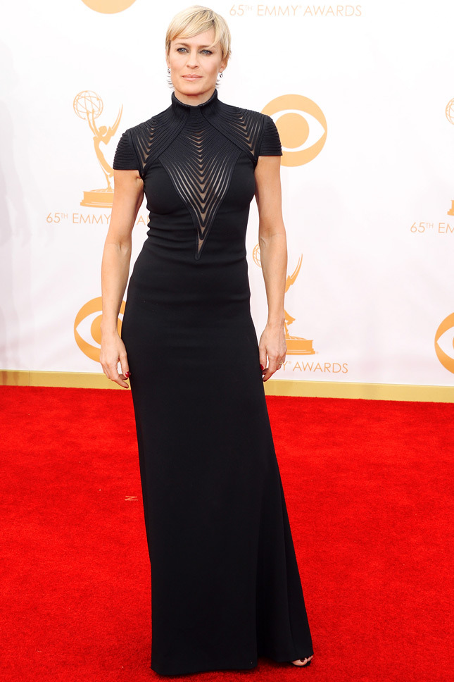Robin Wright, in Ralph Lauren.