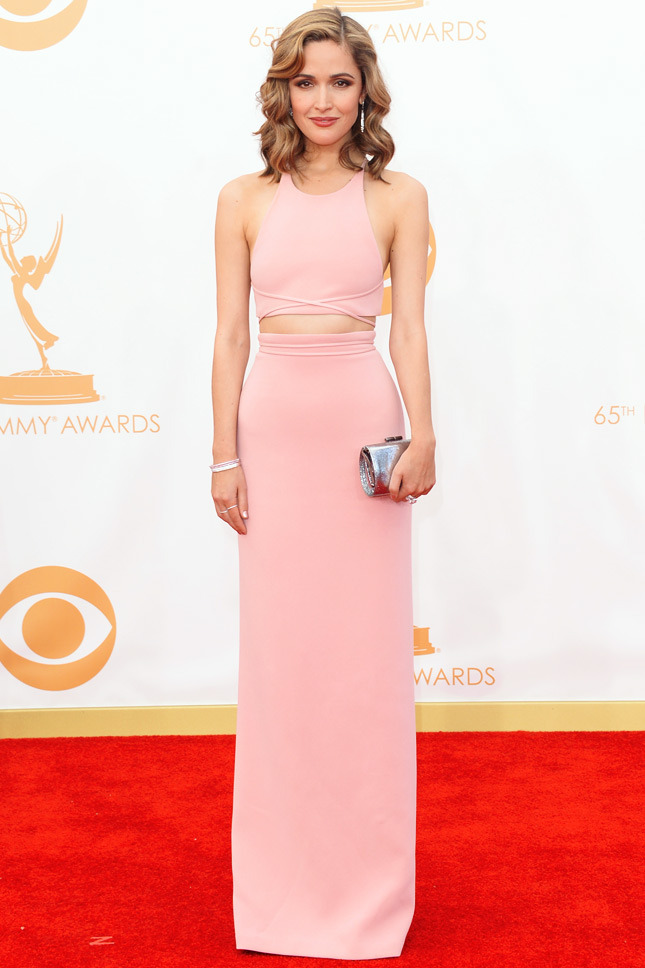 Rose Byrne, in Calvin Klein Collection