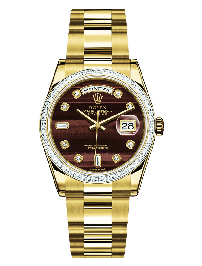Rolex Oyster Perpetual Day Bull's Eye