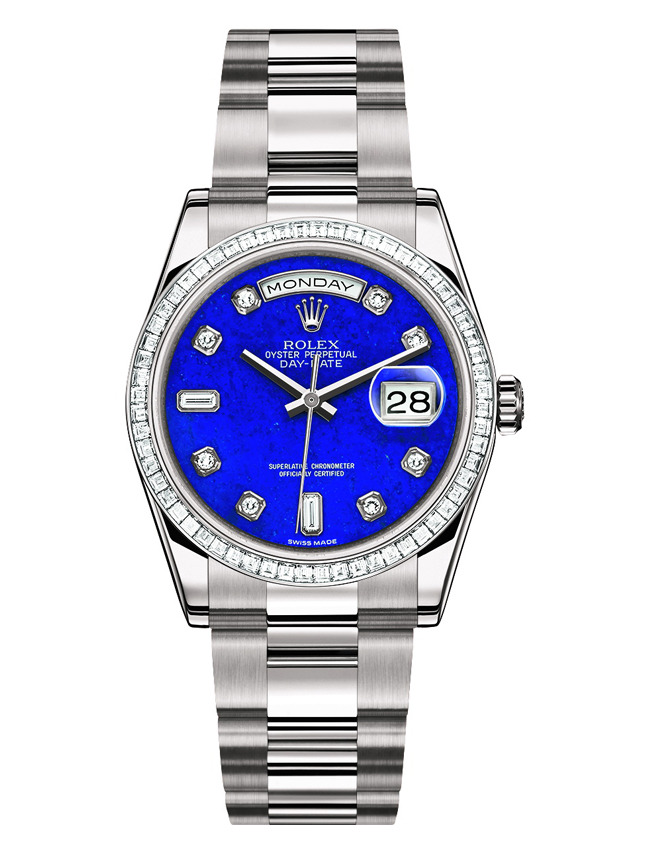 Rolex Oyster Perpetual Day Lapis Lazuli