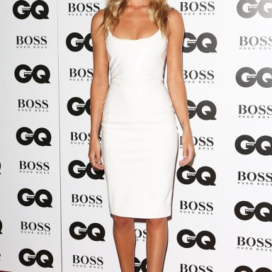 Rosie Huntington-Whiteley in Versace.