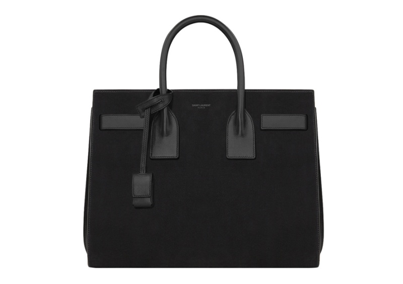 Saint Laurent by Hedi Slimane  Leather and suede day bag, €1950