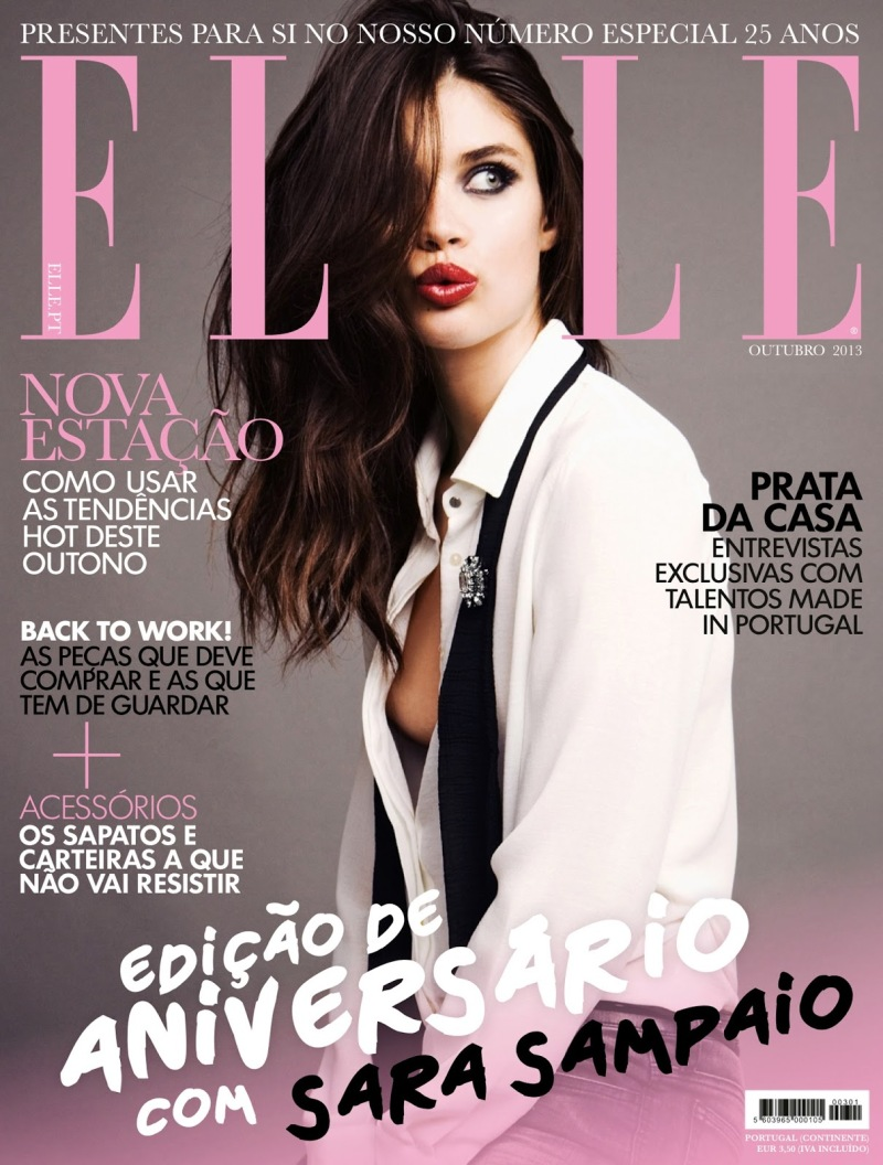 Sara Sampaio By Juan Aldabaldetrecu For ELLE Potugal October 2013
