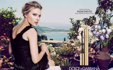 Scarlett Johansson for Passioneyes Mascara by Dolce & Gabbana Beauty