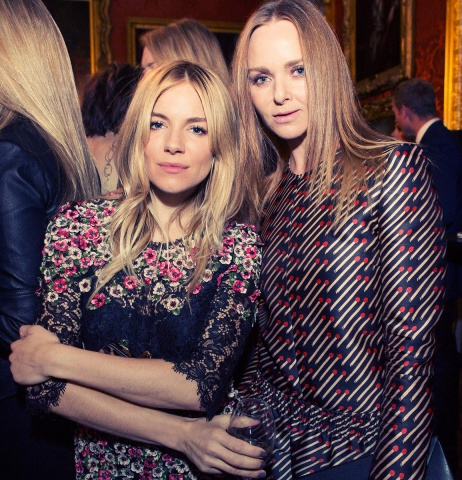 Sienna Miller and Stella McCartney