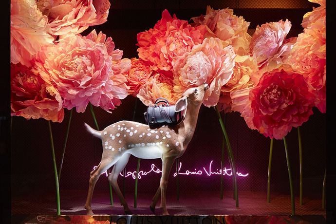Sofia Coppola designed the windows for Le Bon Marché Paris