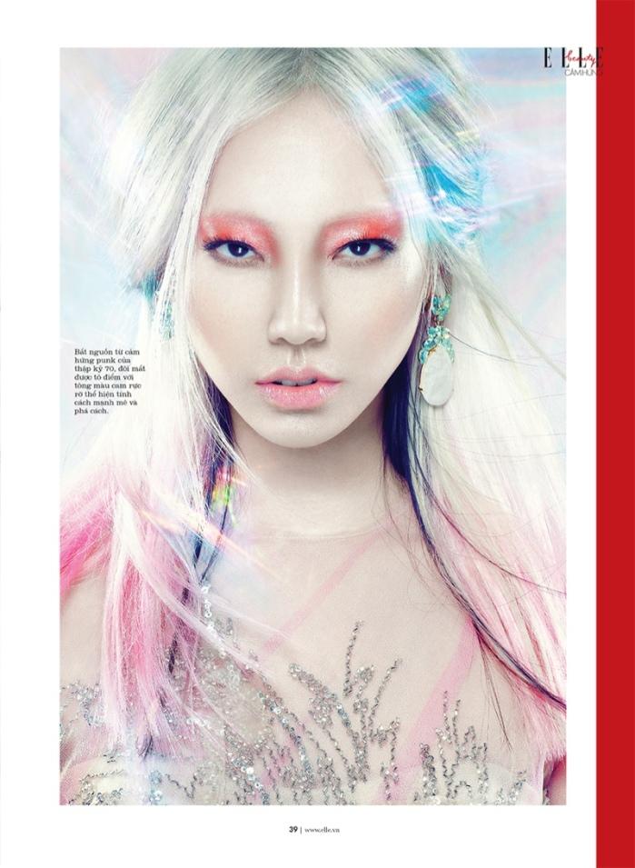 Soo Joo by Yulia Gorbachenko for ELLE Vietnam October 2013