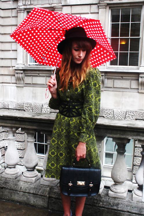 Street style at London Fashion Week Spring/Summer 2014 Photo by Nicoletta Cianci
