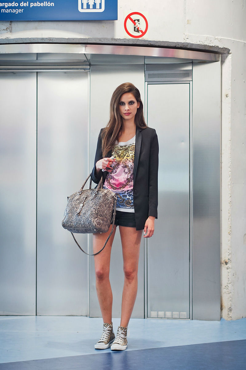 Street style at Mercedes Benz Fashion Week Madrid spring/summer 2014