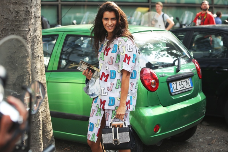 Street Style At Milan Fashion Week Spring/Summer 2014 / Photography By NAM