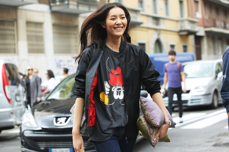 Street Style At Milan Fashion Week Spring:Summer 2014 3