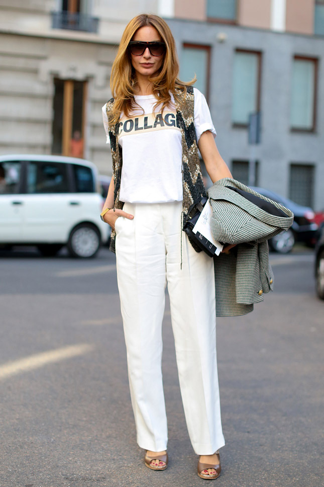 Street Style At Milan Fashion Week Spring Summer 2014 Collection 8 The Citizens Of Fashion