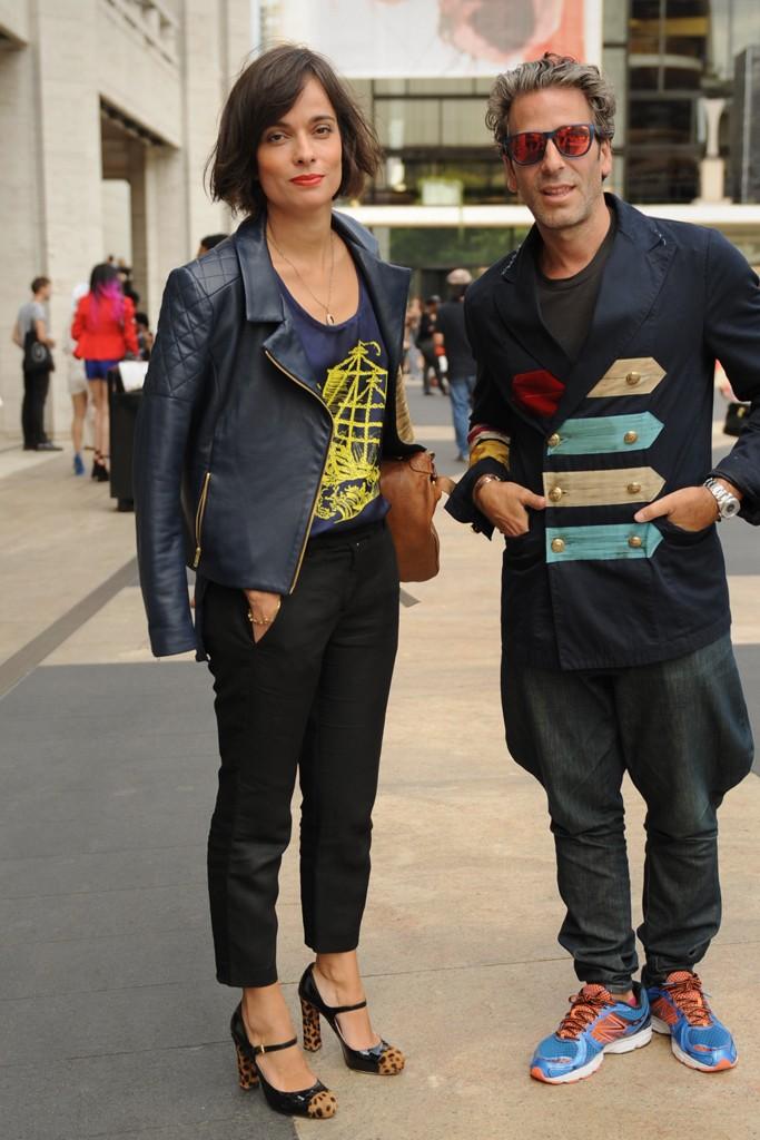 Street Style at New York Fashion Week Spring 2014