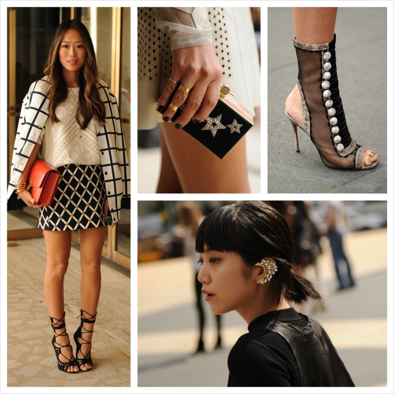 Street Style at New York Fashion Week Spring 2014
