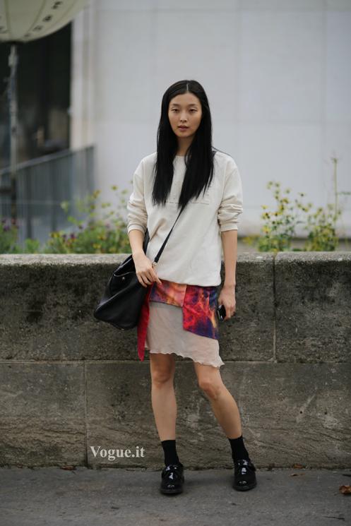 runaway paris fashion week springsummer tilda lindstam photo pierguido grassano models